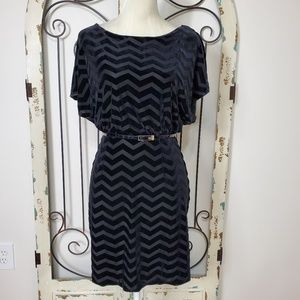 White House Black Market velvet dress XXS